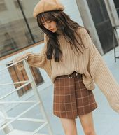 Rate this outfit from 1-10  . . . #ulzzang #style #ootd #koreanstyle #autumn