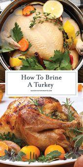 How to Brine a Turkey – The Best Turkey Brine Recipe Ever