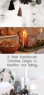Photo of 21 kleine skandinavische Weihnachtsmotive zur Neudefinition Ihres Urlaubs – Home Decor Diy