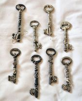 Wire Wrapped Skeleton Key Pendant (For Sale) by SerenFey #anhanger #d … …