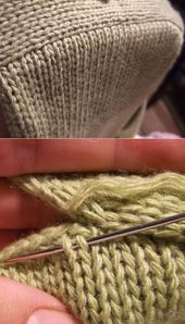 Knitting Tricks and Patterns Ideas and photos …