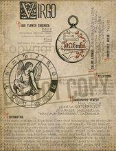 Virgo zodiac sign 6