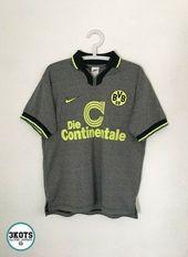 Borussia Dortmund 1997 98 Nike Away Football Shirt S Vintage Soccer Jersey Bvb Ebay In 2020 Sports Tshirt Designs Vintage Football Shirts Football Shirts