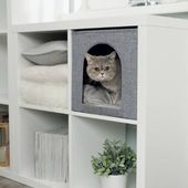 """Ikeas modulare """"Kallax"""" -Regale sind bekannt für ihre Flexibilität. Fro … #b… – Katze"""