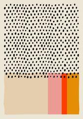 Mid Century Print, Minimalist Print, Mid Century Modern, Modern Print, Modern Art, Minimalist Art, Scandinavian Print, Art, Mid Century Art   – Posters