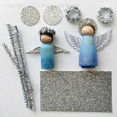 hier blühen wir: peg doll engel bei hallo, wunderbar!   – Handmade