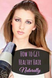 Natürlich gesundes Haar!   – Hair Care – Tips for healthy, strong hair