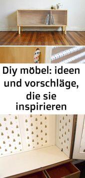 Diy möbel: ideen und vorschläge, die sie inspirieren können 120