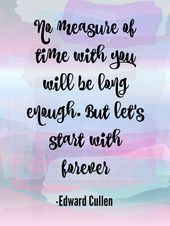Twilight Quote Wall Art KOSTENLOS bedruckbar in den Größen 8 x 10 und 5 x 7 #twilightquote #fre …   – Tattoo Ideas