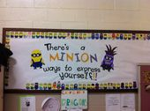 Minion bulletin board