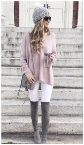 50+ Lovely Women Winter Outfits Ideas Enjoy The Snow » Fashionova.us