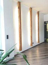 Blickfang aus #Altholz 🖤 #Lampe #living #Beleuchtung…