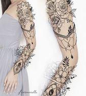 30+ atemberaubende Garten Teich Wasserfall Design-Ideen – Nell Oa.  Tattoo-Ideen #flowertattoos – flower tattoos designs