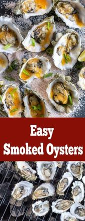 Smoked Oysters with Spicy Miso Butter are the perfect finger food for a game day…