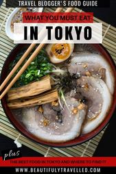 What to eat in Tokyo and the place to search out it – The Final Journey Blogger's Meals Information