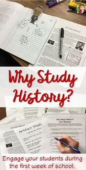 Why Research Historical past? Again to Faculty Exercise to Assume Like an Historian