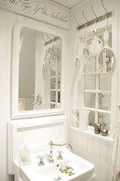 25 Fantastische Shabby Chic Badezimmer Ideen