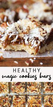 More healthy Magic Cookie Bars (Vegan + Gluten-Free)