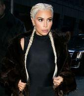kim kardashian platinum braid #boxing #boxing #hai…