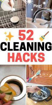 ¿Quieres mejorar en la limpieza? Echa un vistazo a estos trucos de limpieza que cambian la vida …