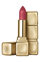 Guerlain Kisskiss Matte Lipstick – M375 Flaming Rose