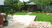 Image result for garden design for new build house