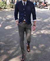 5 ideas de vestimenta informal de negocios para hombres que trabajan   – Stylist