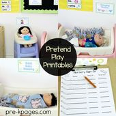 Baby Doll Nursery Dramatic Play – Pre-k Pages Activities
