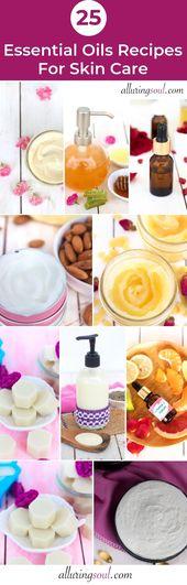 25 Best Essential Oil Recipes For Skincare | Alluring Soul