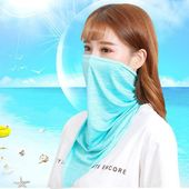 Amazon Com Aolvo Cooling Neck Gaiter Face Mask Sun Protection