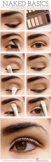 Top 10 Tutorials für natürliches Augen-Make-up – Top Inspired   – Hair and Beauty