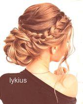 Hochzeitsblumen #Hochzeit lange Hochsteckfrisuren Hochzeitsfrisuren von mpobedins … – My W …   – Wedding HairStyles