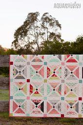 Cherry Tree Lane Quilt – Die Geschichte hinter dem Quilt   – Quilting
