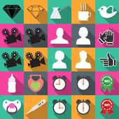 Technology icons vector illustration icon business flat icons vector hand phone design finance web set technology money clock mobile contract time off…
