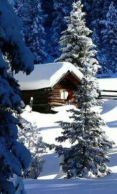Photo of Schöne Landschaft der Natur, # Schöne # Landschaft # Natur #Winterbilderlandschaft