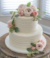 20 köstliche florale Hochzeitstorte Design-Ideen, die Sie inspirieren   – Wedding Ideas