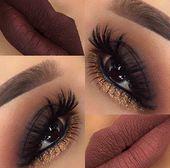 25 glamouröse Make-up-Ideen für Silvester – Nageldesign & Nailart