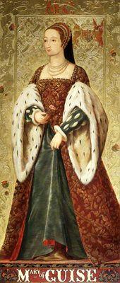 Marie de Guise, la madre de María, Reina de Escocia.   – Historical,.figures