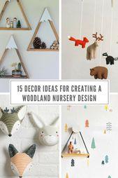 15 Decor Ideas For Creating A Woodland Nursery Des…