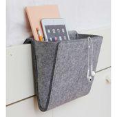 Bedside Essentials Pocket | Bedside Caddy, Kikkerland