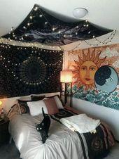 28+ Cool DIY Hipster Bedroom Decoration Ideas #bedroomdecor #bedroomdesign #bedr…   – haus