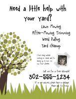 yard work flyers