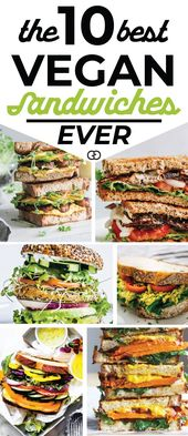 10 Easy Vegan Sandwiches Perfect For Your Awesome Lunch Box