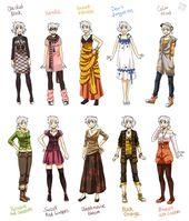 Manga Clothes Female Anime