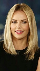 Super hairstyles for long fine hair with bangs #blond #longbob #easy hairstyle … – Long Bo …