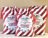 Personalisierte Santa Sack, Santa Bag, Santa Delivery Bag, Weihnachtsgeschenk, Weihnachtssack, Christmas St