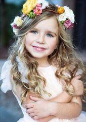 flowergirl hairstyles - flower girl hairstyle