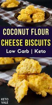 Keto-Kokosmehl-Kekse mit Knoblauch und Käse Wenn Sie Kokosnuss lieben, dann …   – food-and-drinks