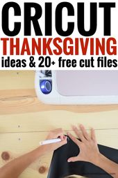 Cricut Thanksgiving Ideas!