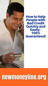 How To Help People With Bad Credit Quickly And Easily 100 Guaranteed People With Poor Credit Can Loans For Bad Credit Bad Credit Bad Credit Personal Loans